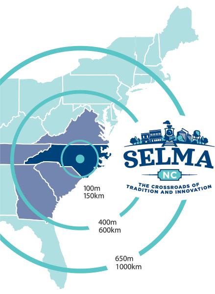 Selma US Map